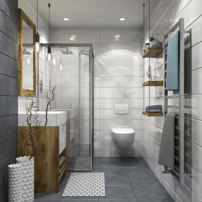 éclairage de salle de bain