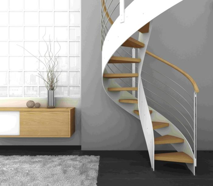 par exemple c'est un escalier en colimaçon