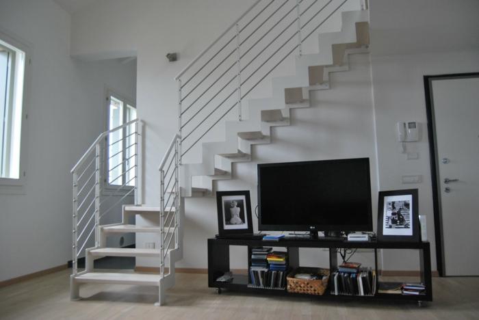 par exemple c'est un escalier à double limon à crémaillère