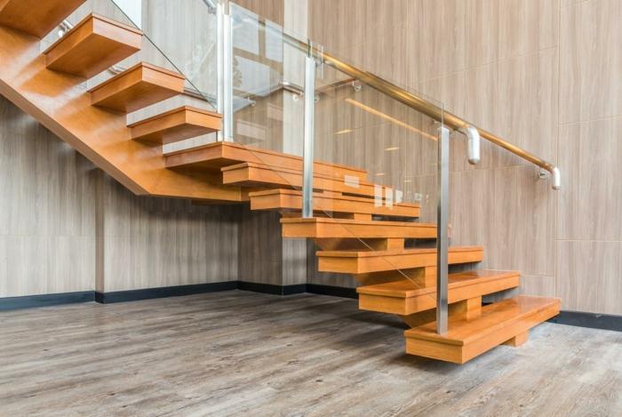 par exemple c'est un escalier à limon central