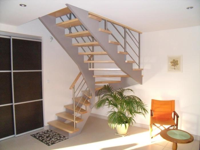 par exemple c'est un escalier avec limons à crémaillère