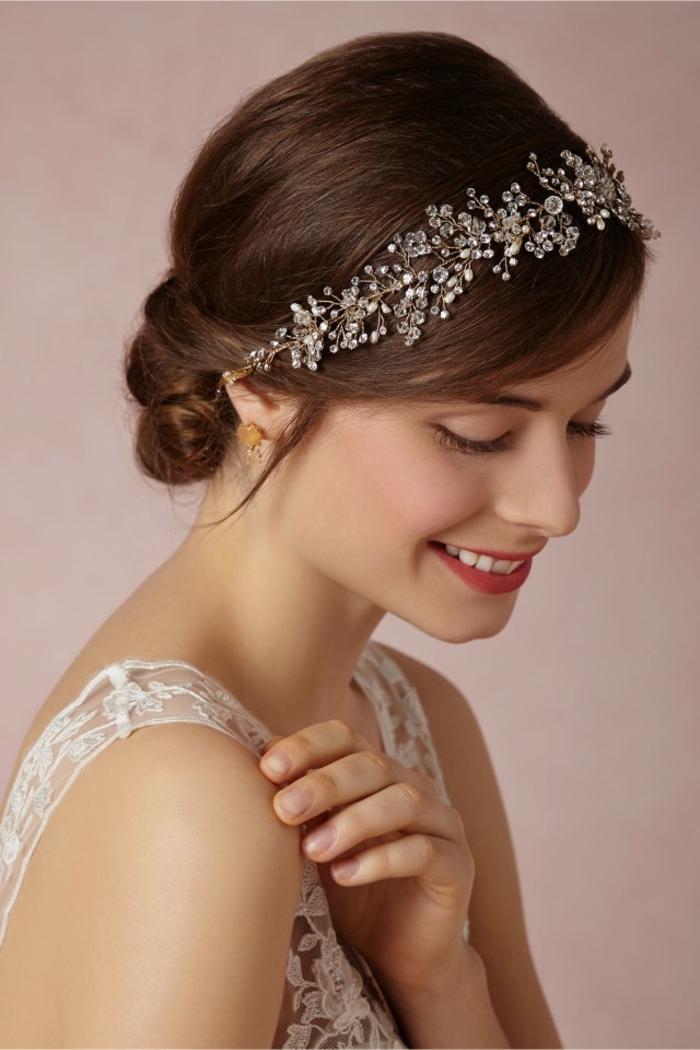 pour une très romantique coiffure mariage femme - idées en photos pour vous inspirer