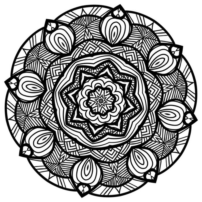 idée tatouage mandala