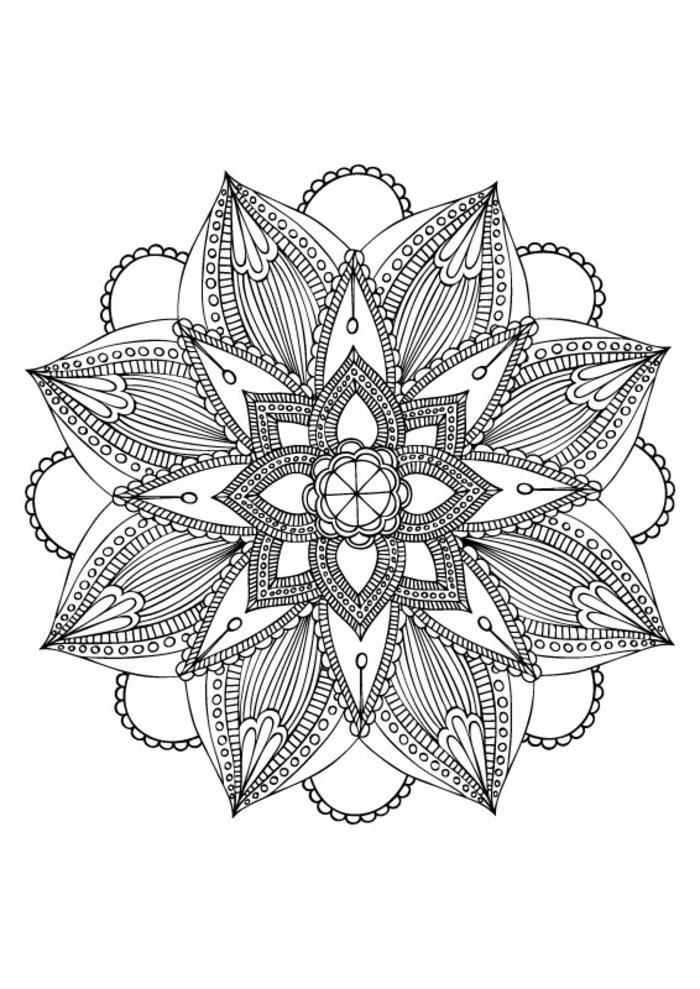 idées pour faire un tatouage mandala