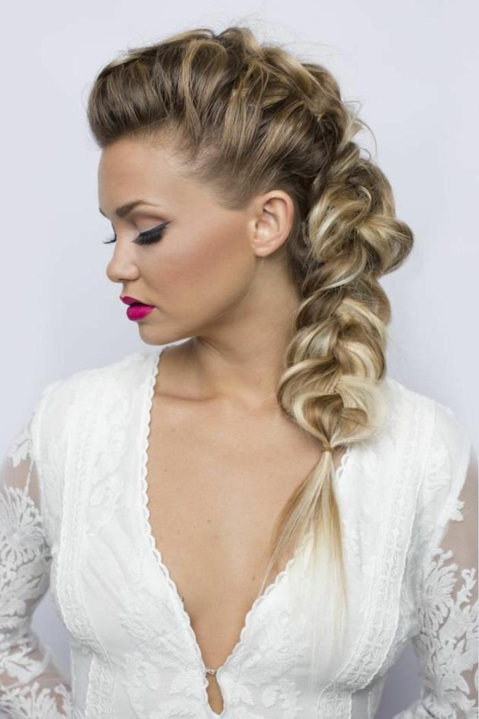 coiffure mariage tresse pour un look romantique