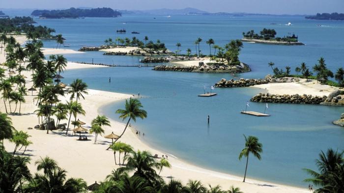 visiter singapour et l'île de sentosa