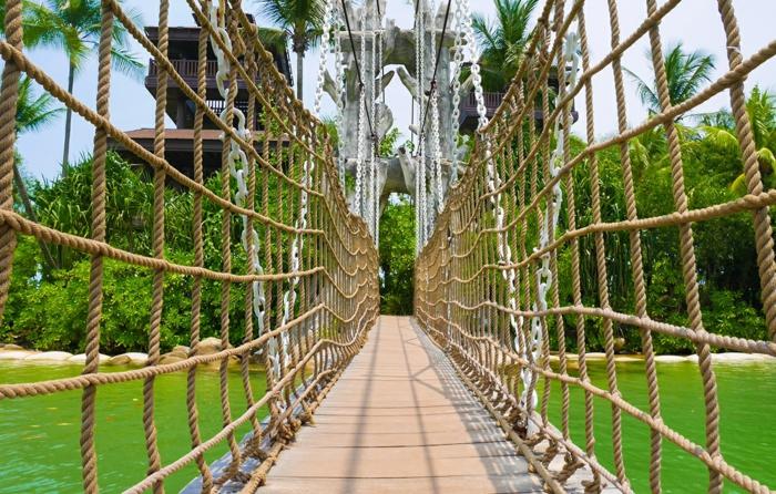 île sentosa singapour