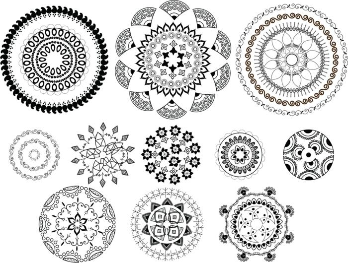 images tatouage mandala