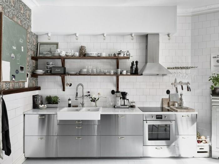 la place de l'inox dans la cuisine moderne