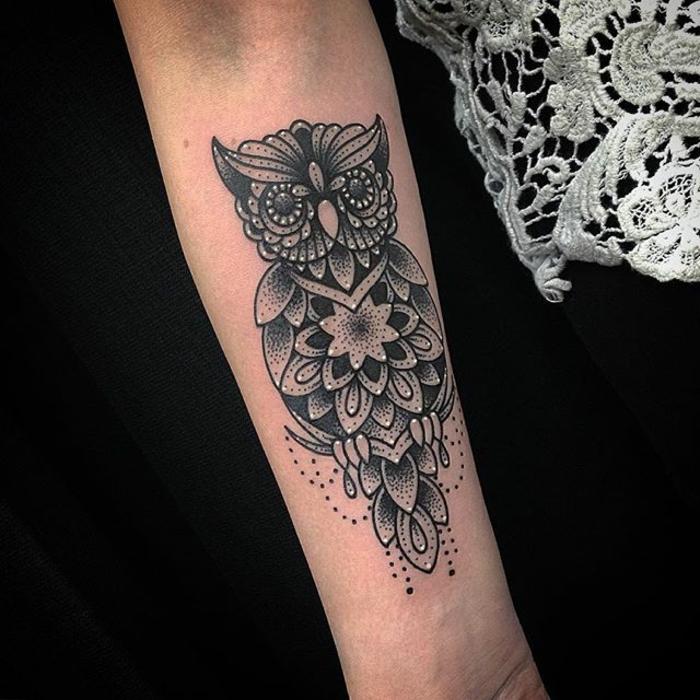 jolie idée tatouage mandala