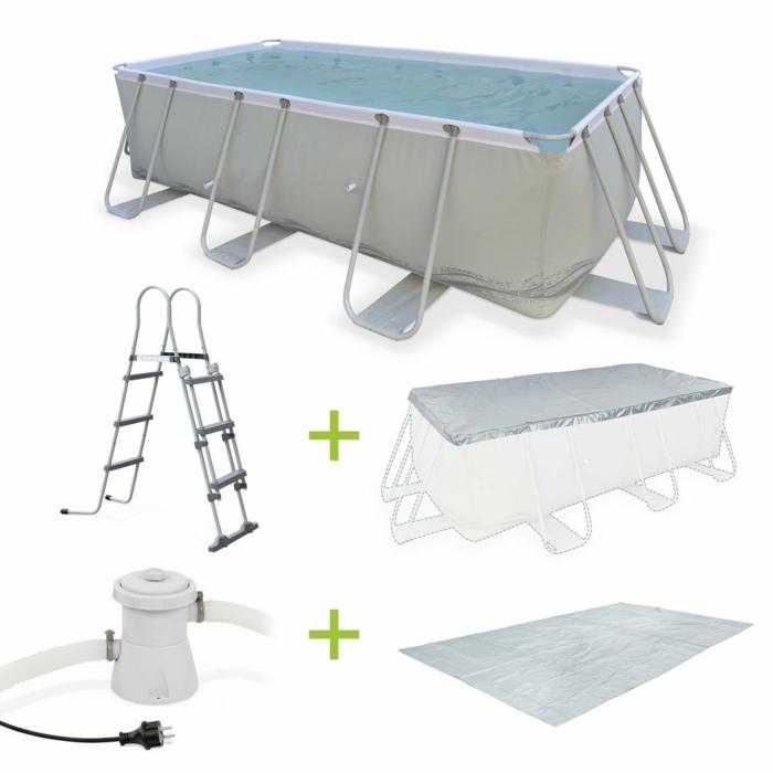par exemple c'est un kit grande piscine tubulaire