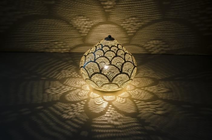 décoration orientale lampe