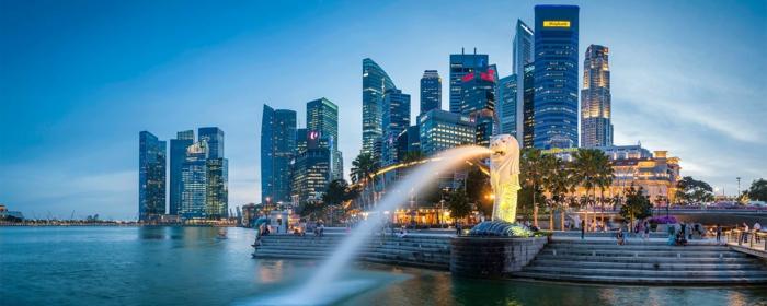 le symbole de singapour merlion