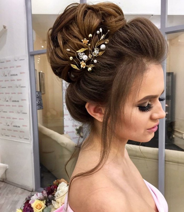 Coiffure magnifique,coiffure mariage femme - idées en photos pour vous inspirer