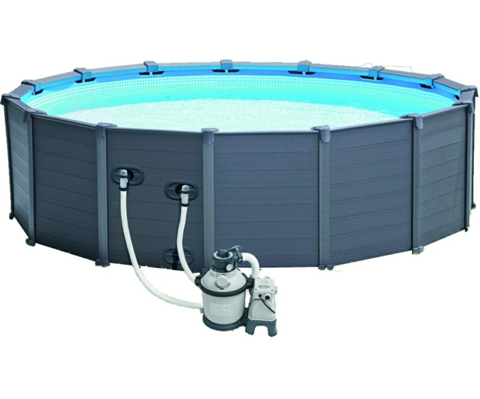 par exemple c'est une piscine tubulaire en couleur graphite
