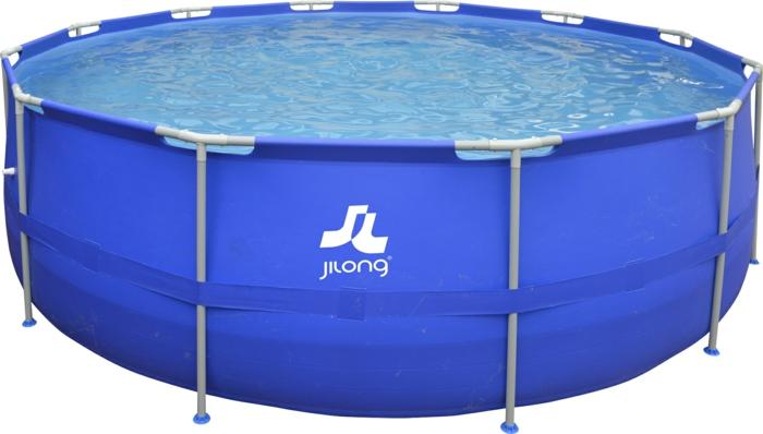 par exemple c'est une piscine tubulaire ronde
