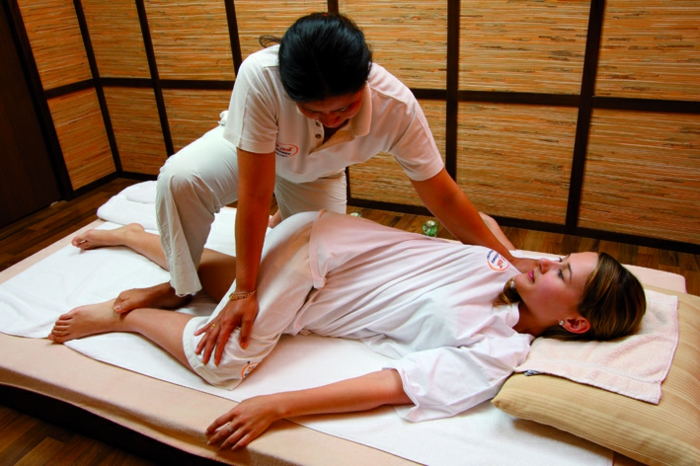position massage thaï