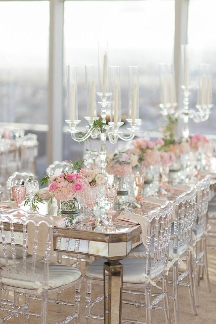 chaise transparente décorer votre mariage