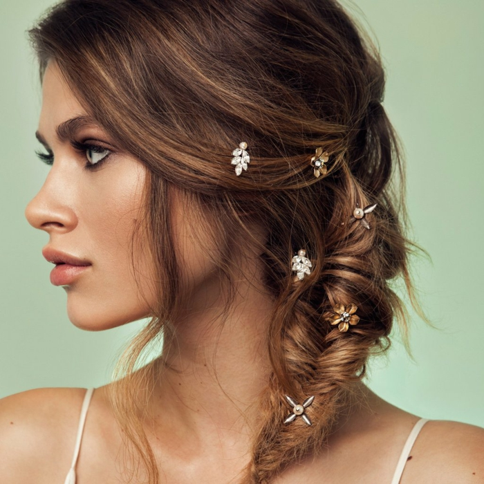 Inspiration d'une coiffure mariage femme - idées en photos pour vous inspirer