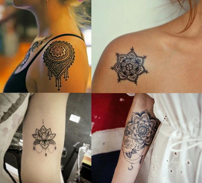 pour vous inspirer faire un tatouage mandala