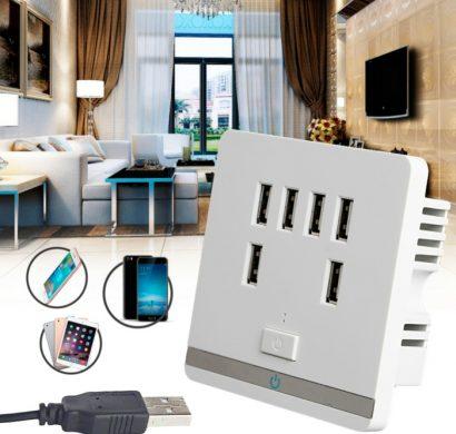 prise usb murale pourquoi c 39 est utile d 39 en avoir dans votre logement. Black Bedroom Furniture Sets. Home Design Ideas