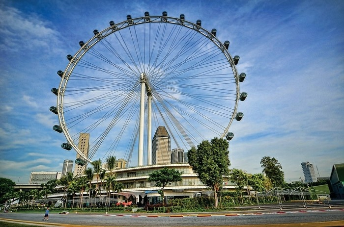 singapour flayer attraction