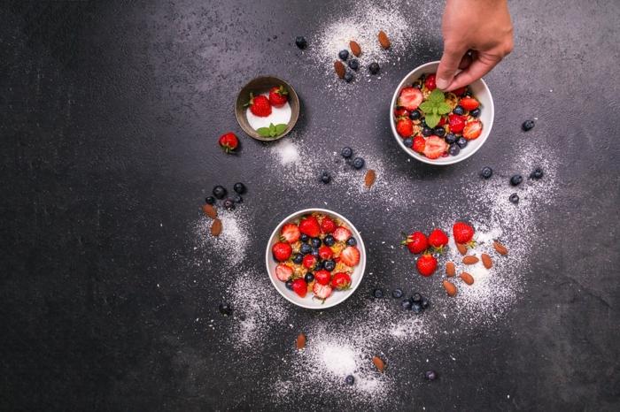 summer fruits dessert d'été
