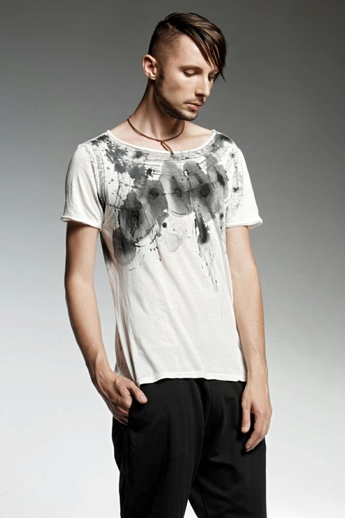 t-shirt peint de pendari