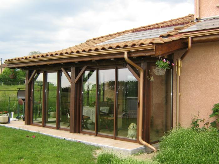 par exemple c'est une toiture véranda en tuiles