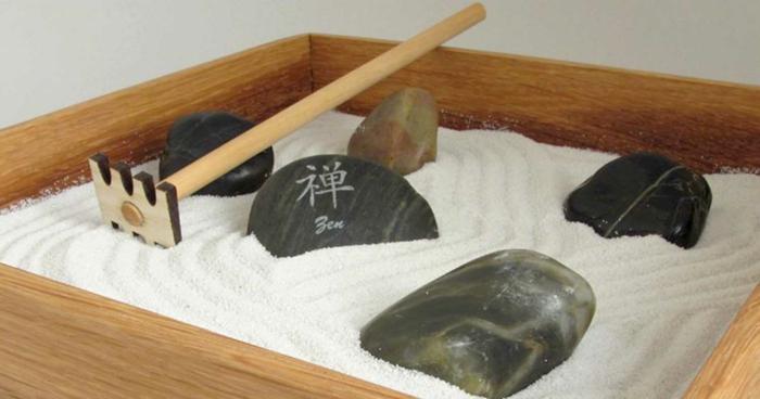 jardin zen miniature pour votre intérieur
