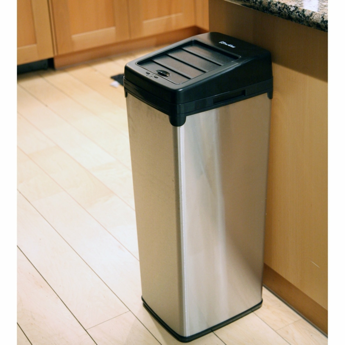 Motion-Sensor-Trash-Can-poubelle-cuisine