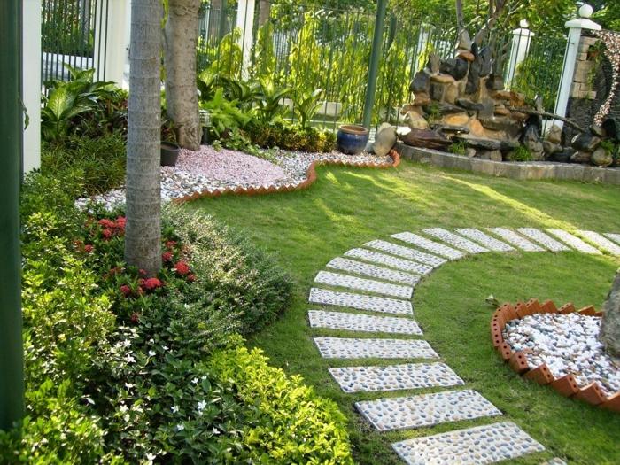 beau jardin allée