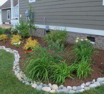 Bordures de jardin : idées comment aménager vos allées et plates-bandes