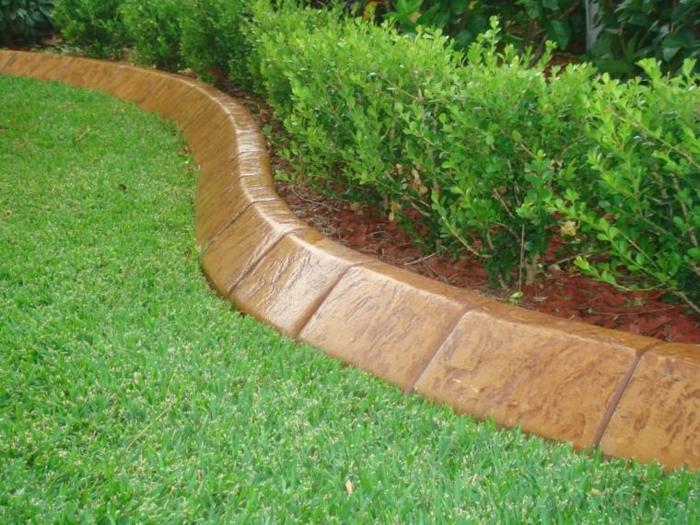 bordure pierre jardin