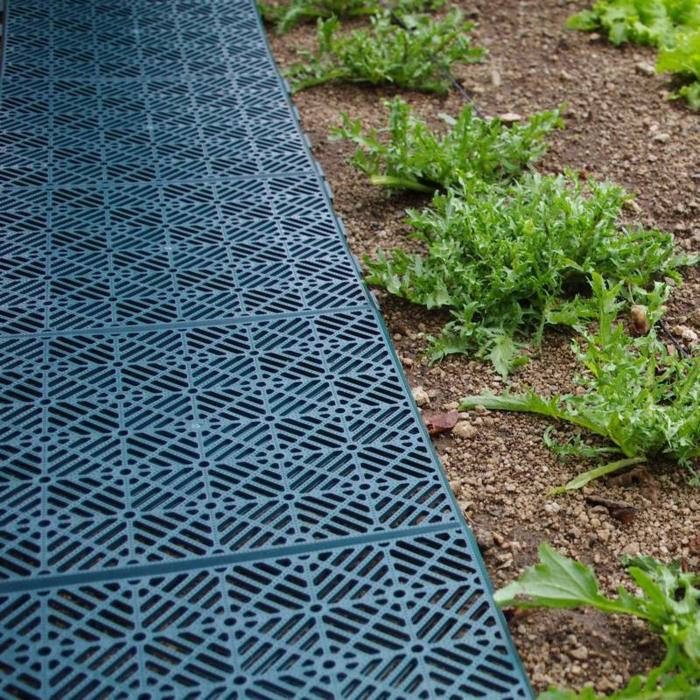 Id e all e de jardin en 50 exemples originaux et tendance for Caillebotis jardin