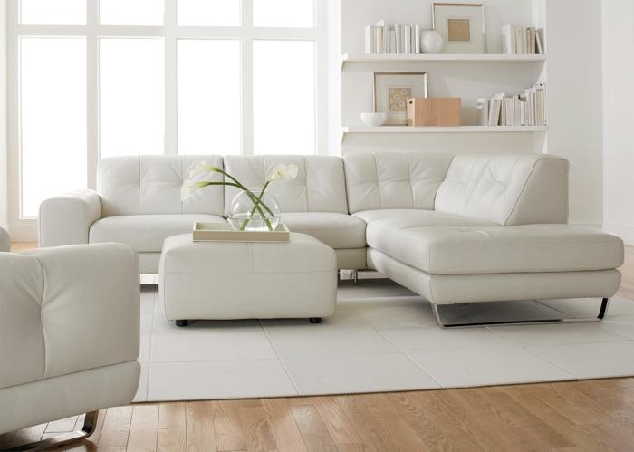 canap d angle convertible blanc pour votre salon - Canape D Angle Cosy