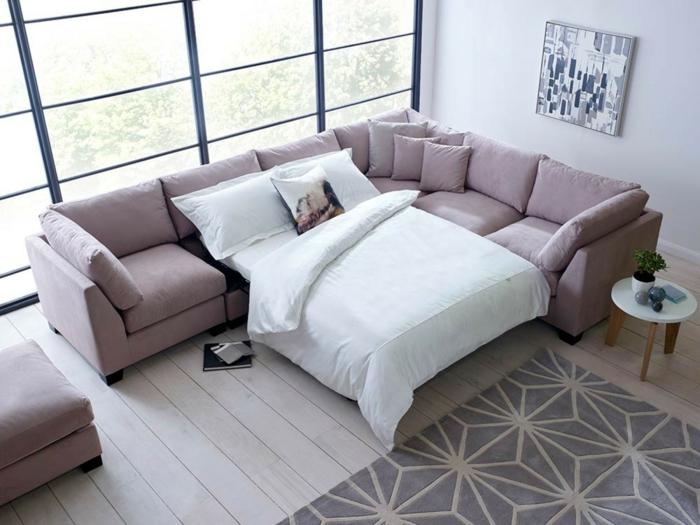 canapé d'angle convertible moderne pour décorer bien votre salon
