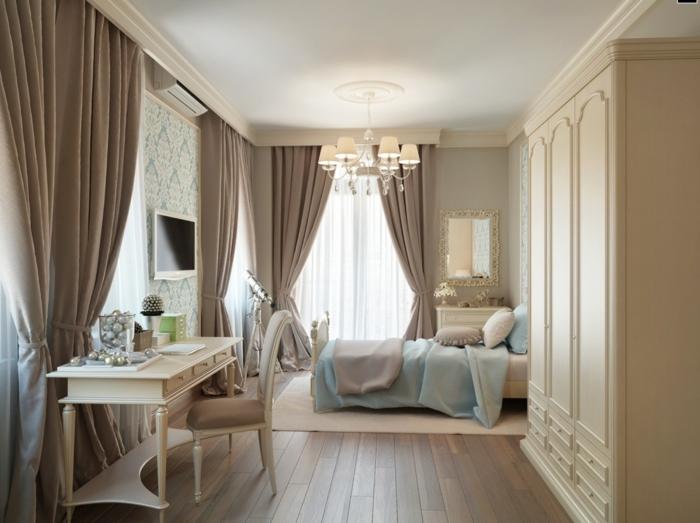 couleur taupe pour la chambre à coucher