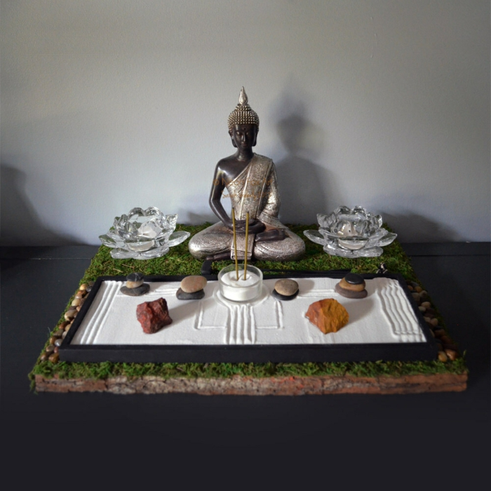 Comment cr er un jardin zen miniature inspiration du blog for Creer un jardin zen