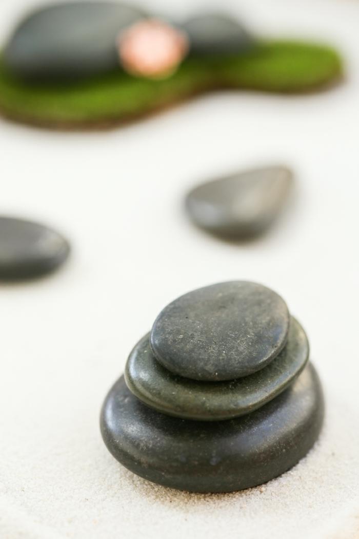 diy jardin zen miniature