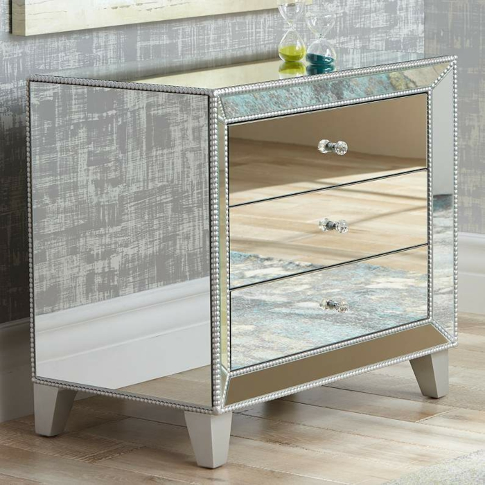 commode accent glace