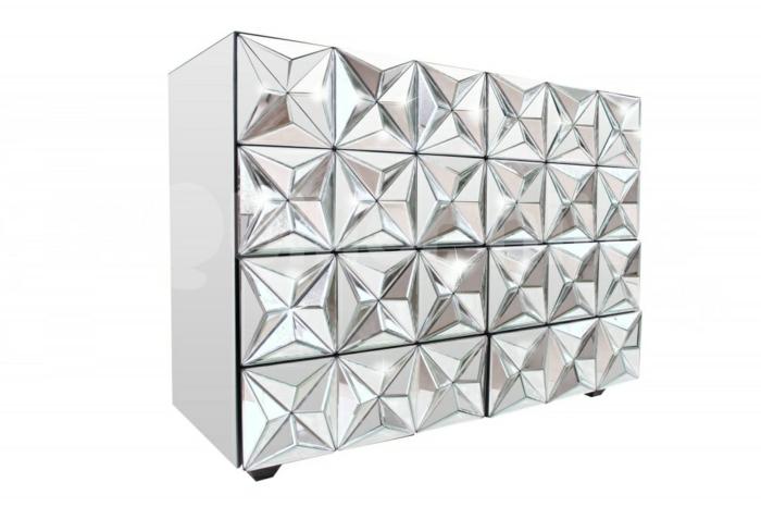 commode design verre