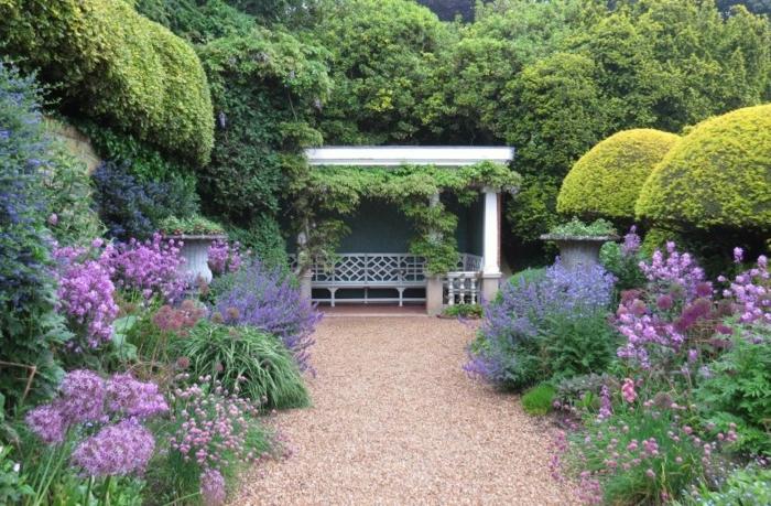 créer jardin à l'anglaise