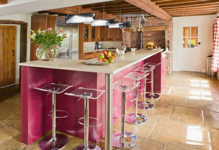 Tabouret de bar r tro ou contemporain c 39 est toujours - Chaises hautes cuisine ...