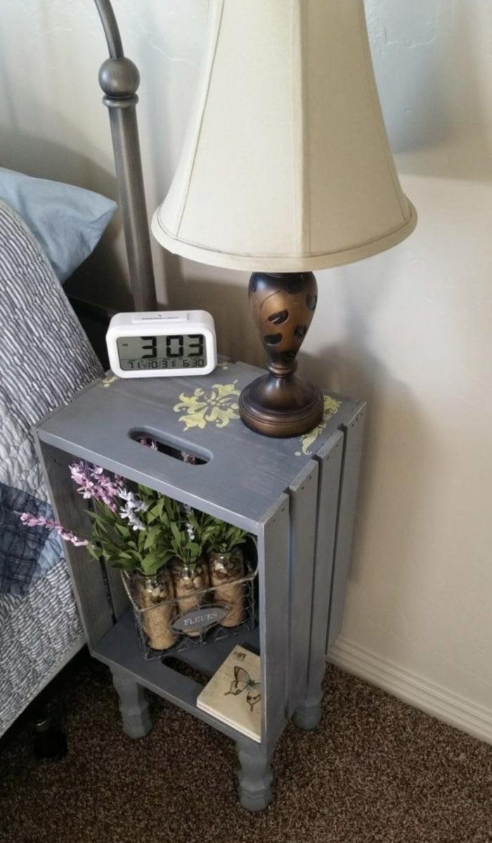 table de chevet unique pour d corer votre chambre. Black Bedroom Furniture Sets. Home Design Ideas