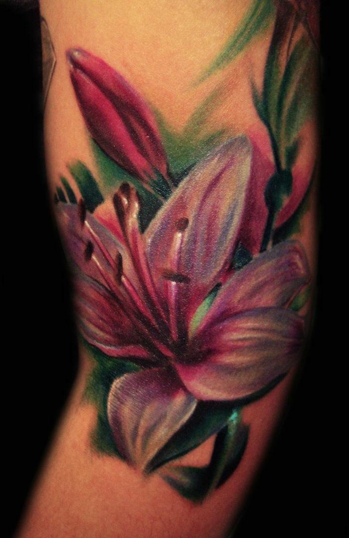 design tatouage fleur de lys