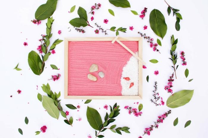 diy mini zen garden jardin zen miniature avec sable coloré