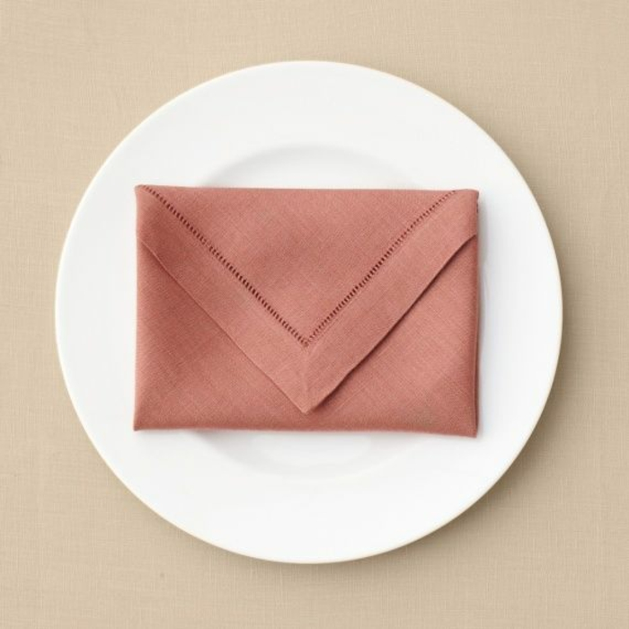 enveloppe pliage serviette