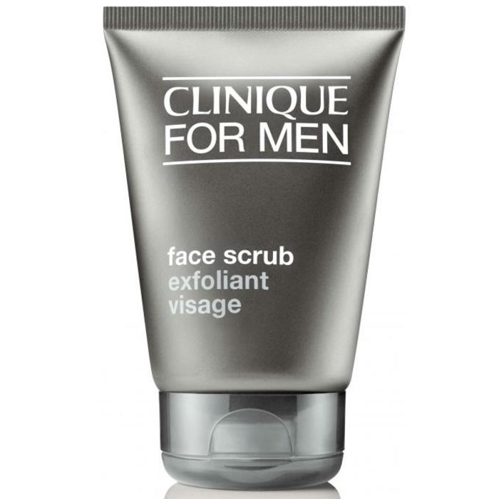 soin visage homme, exfoliant pour une peau plus belle