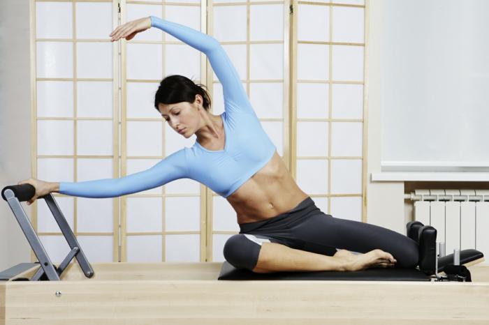 faire pilates exercices à la maison